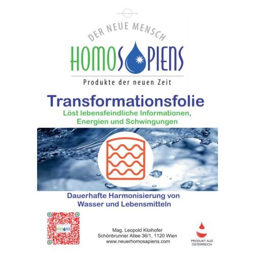 Transformationsfolie - für den guten Geschmack und die Lebensfreude!