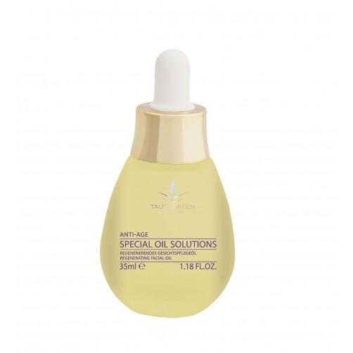 Regenerierendes Gesichtspflegeöl für reife Haut, harmonisiert
