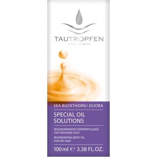 Sanddornöl, Regenerierendes Körperpflegeöl für trockene Haut, harmonisiert