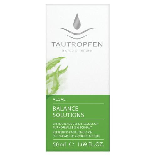 Alge, Erfrischende Gesichtsemulsion für normale bis Mischhaut, harmonisiert
