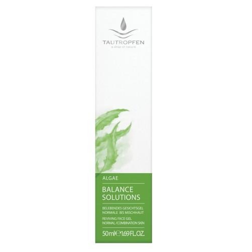 Alge, Vitalisierendes Gesichtsgel für normale bis Mischhaut, harmonisiert