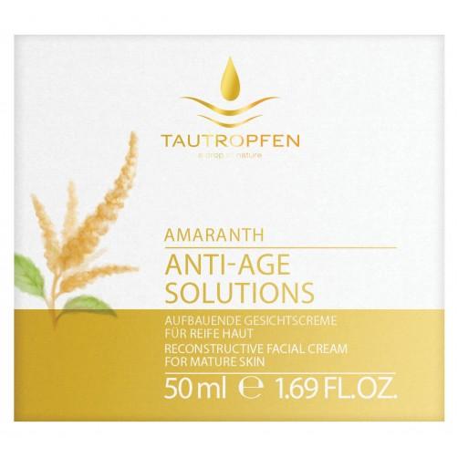Amarant, Aufbauende Gesichtscreme für reife Haut, harmonisiert