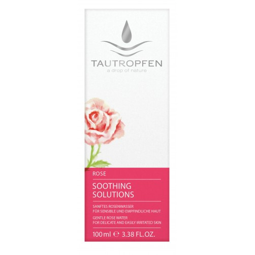 Rose, Sanftes Rosen Wasser für sensible und empfindliche Haut, harmonisiert